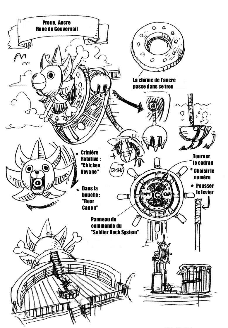 One piece fan club thousand sunny fan clubs forums mangas france - One piece volonte du d ...