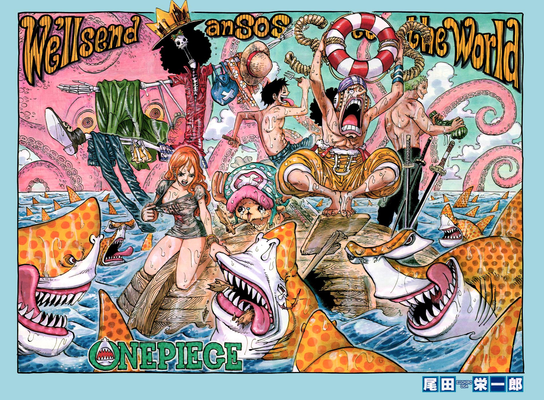 One Piece - La Volonté du D : Galerie couleur 8
