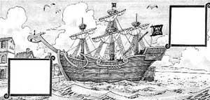 Ancien navire de Shanks