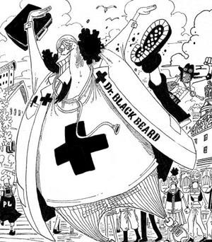 Barbe noire docteur one piece - One piece volonte du d ...