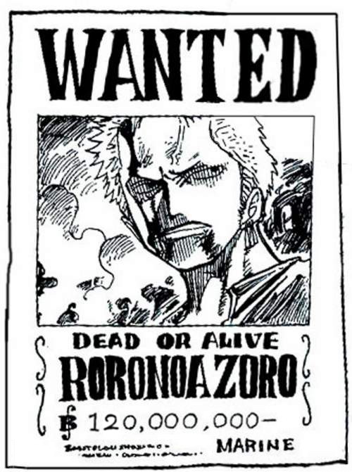 One piece la volont du d wanted - Dessin a colorier one piece ...