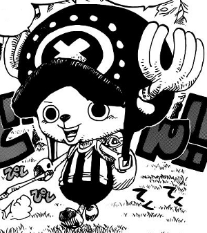 Nos héros:Les mugiwaras pirates Chopper09